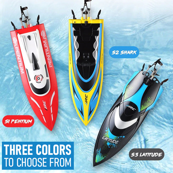 Fast T1 Racing Remote Control RC Pentium Shark Boat Pool Toy