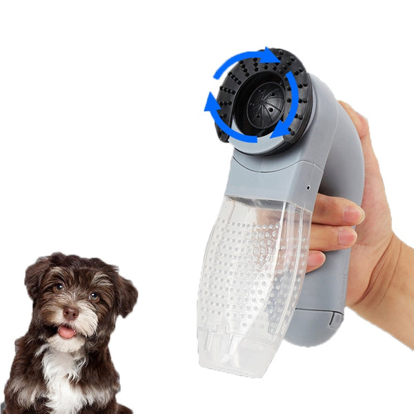 Cordless Pet Fur Grooming Device