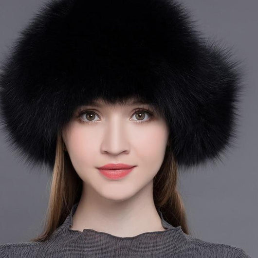 ... New Arrival Women Natural Raccoon Fox Fur Winter Thick Warm Bomber Hat  ... 0778bfdca408