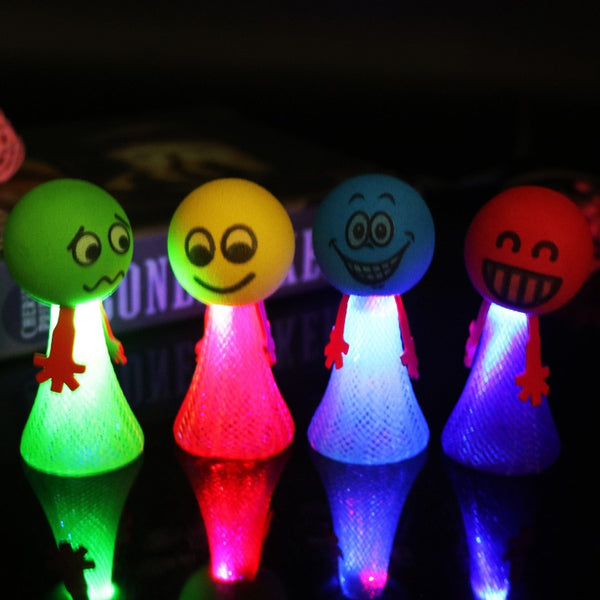 Bouncing LED Pet Toy