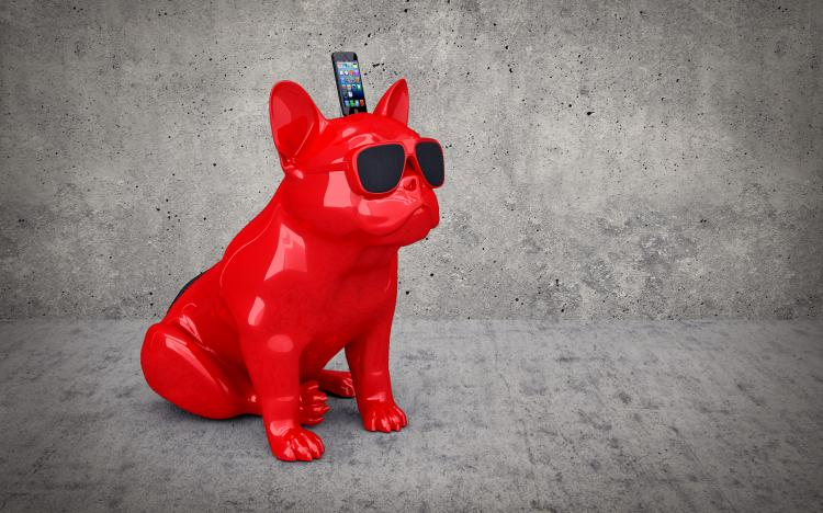 Aero Giant Bluetooth Bulldog Speaker!
