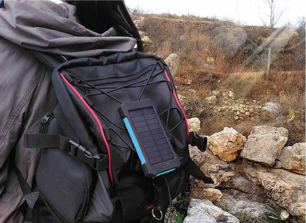 30,000mAh Waterproof Solar Phone Charger