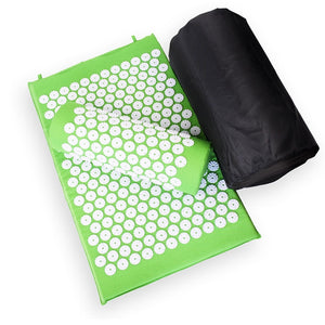 Acupressure Pain Relief Mat + Pillow (FREE SHIPPING)