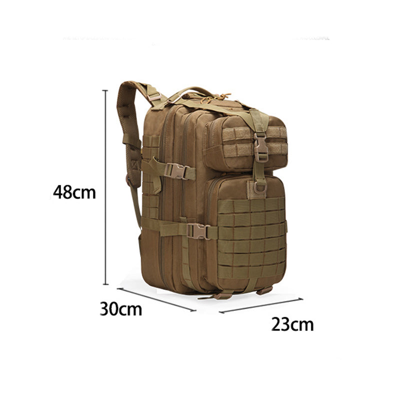 50L Large Capacity Military Style Waterproof Backpack