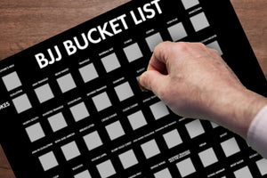 BJJ Bucket List - 101 Submissions You Need to Try - PREORDER