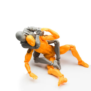 Grappler - Model Kit For Martial Artists (FREE SHIPPING)