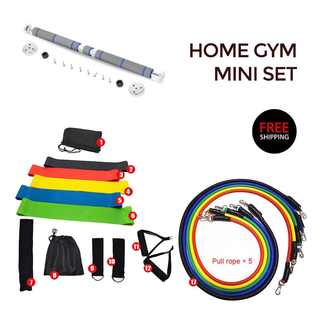 Complete Home Gym Set