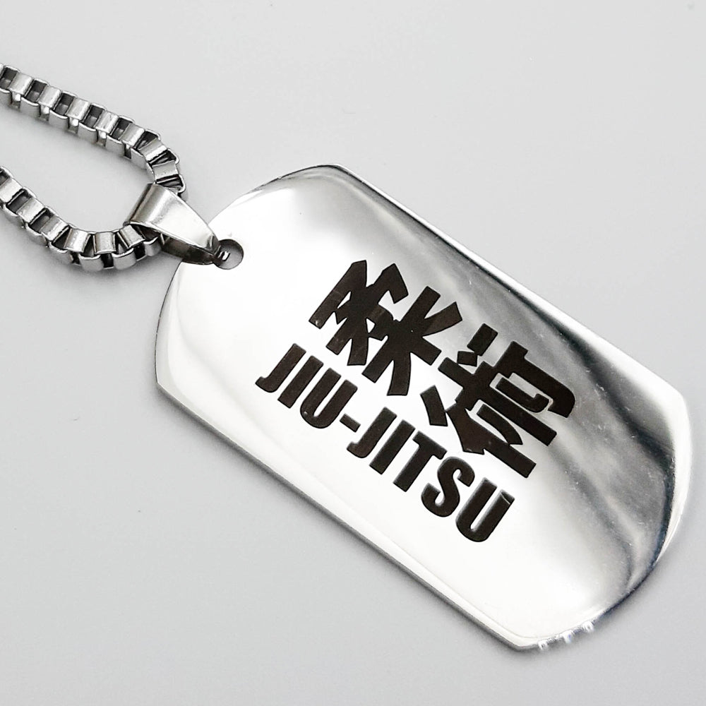 Jiu Jitsu Army Tags (FREE SHIPPING)