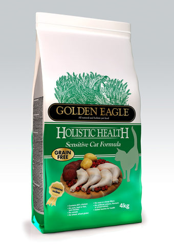 Golden Eagle Holistic Sensitive Cat Viljaton 400 g (-28%)