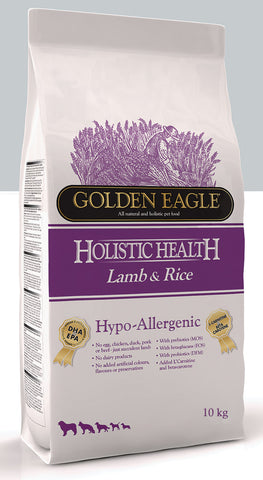Golden Eagle Hypoallergenic Lamb & Rice 10 kg