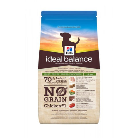 Hill's Ideal Balance No Grain Chicken & Potato 12 kg