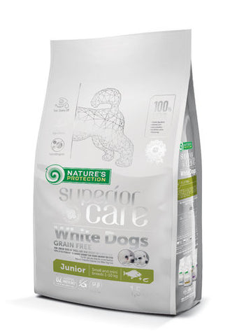 NP Superior Care White Junior White Fish 1,5 kg (-25-37%)