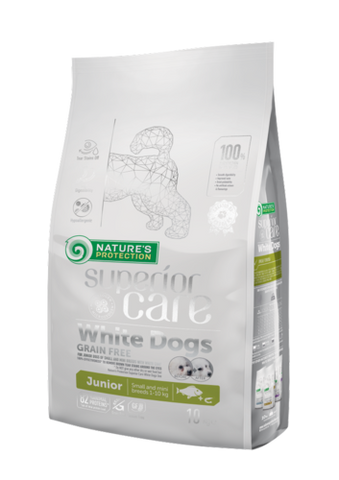 NP Superior Care White Junior White Fish 10 kg