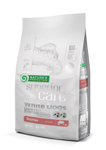 NP Superior Care White Puppy Starter Salmon 1,5 kg (-30-41%)