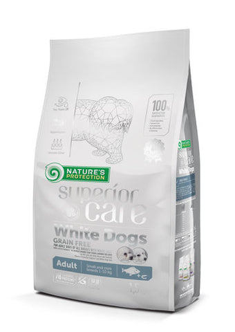 NP Superior Care White Adult White Fish 1,5 kg