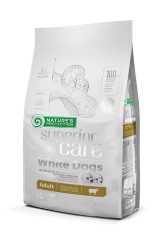 NP Superior Care White Adult Lamb 4 kg (-25%)