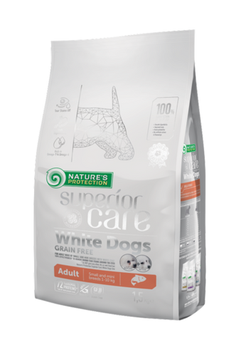 NP Superior Care White Adult Salmon 1,5 kg (-30-41%)