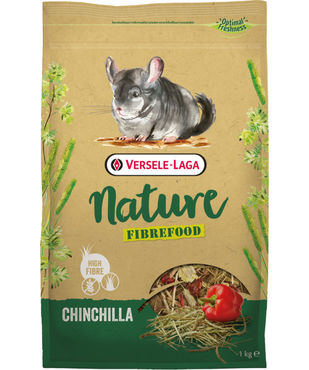 Versele-Laga Nature KUITU Chinchilla 1kg (viljaton)