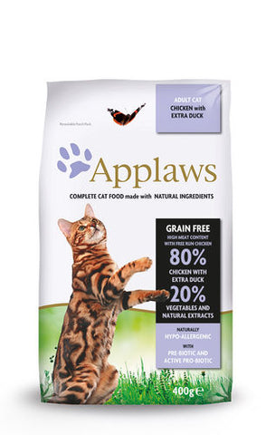 Applaws Kissa Adult Kana & Ankka 400 g (-15%)