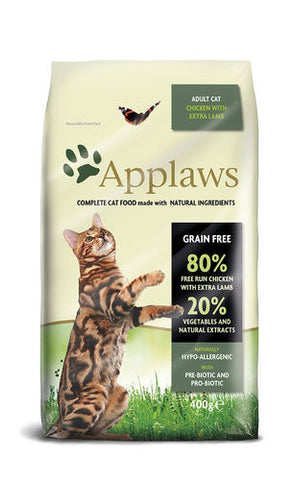 Applaws Kissa Adult Kana & Lammas 400 g (-19%)
