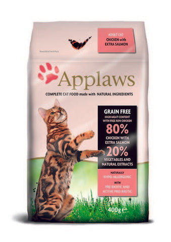 Applaws Kissa Adult Kana & Lohi 400 g (-10%)