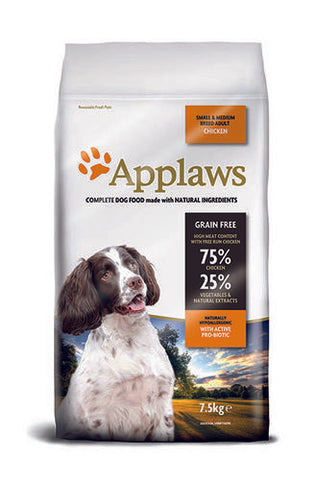 Applaws Koira Kana Small & Medium Adult 7,5 kg