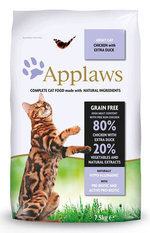 Applaws Kissa Adult Kana & Ankka 7,5 kg