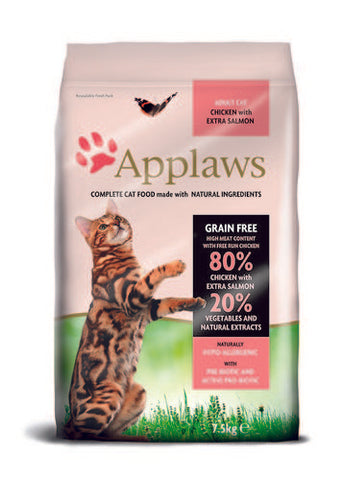 Applaws Kissa Adult Kana & Lohi 7,5 kg