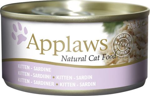 Applaws Kissa Kitten Sardiini 70 g (-29%)