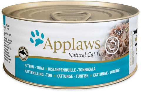 Applaws Kissa Kitten Tonnikala 70 g (-29%)