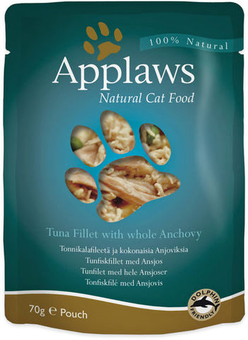 Applaws Kissa Tonnikala & Anjovis 70 g (-20%)