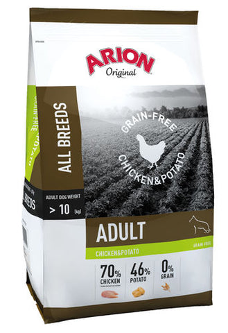 Arion Original Grain-Free Kana & Peruna 12 kg