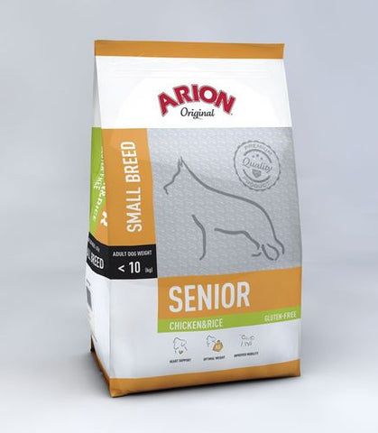 Arion Original Senior Small Kana & Riisi 3 kg (-5€)