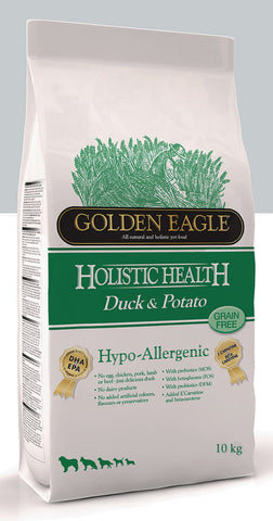 Golden Eagle Hypoallergenic Duck & Potato 10 kg