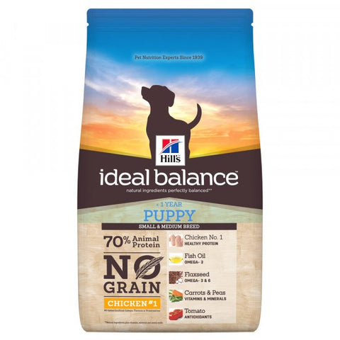 Hill's Ideal Balance Canine Puppy No Grain Chicken & Potato 12 kg (-36%)
