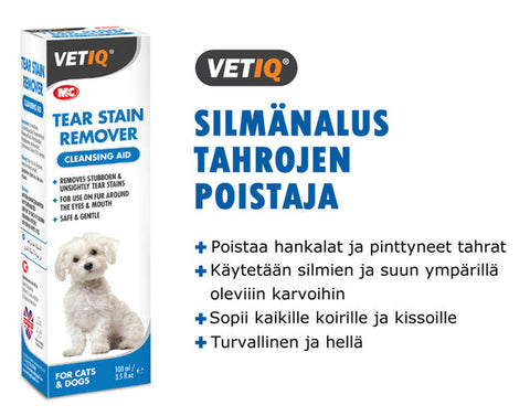 Tear Stain Remover Silmänalusille 100 ml