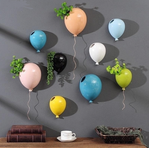 Ceramic Balloon Wall Flower Pot
