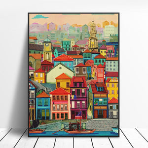 Porto Art Canvas