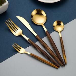 Staineless Steel Cutlery Samantha Collection 5 pieces set