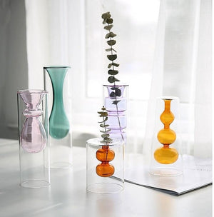 Color Transparent Vase