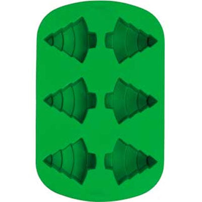Moule silicone Sapin 6 cavités (2105-4830) - NOEL