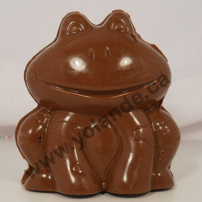Moule à chocolat - Grenouille  3d - Animal (D-A258)
