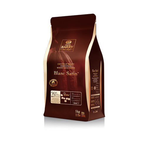 Barry Chocolat 29,2% Blanc Satin 300 gr.