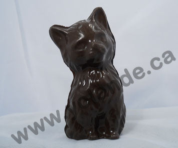 Moule à chocolat - Chat assis 3d - Animal (D-A24)