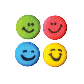 Sucre Lucks Bonhomme sourire - happy faces 3/4''