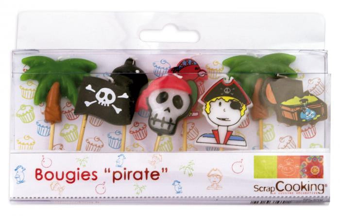 ScrapCOOKING 8 chandelles pirates (SC5000)