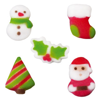 "Sucre Lucks Assortiment adorable de  Noël 1"" (LU48472)"