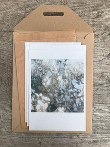 WIESE GARTEN BAUM - A set of 4 cards