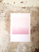 Load image into Gallery viewer, Elbe (rosa) - The Pink River  - A Poster (signed)