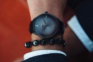 Clarity - Black/Charcoal (Guilloche Edition)